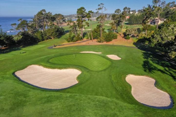 Sân golf bậc nhất nước Mỹ- Pebble Beach Golf Links