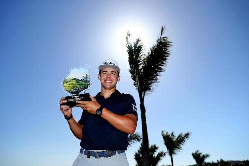 Garrick Higgo- Golfer lọt Top 100 thế giới sau chức vô địch European Tour