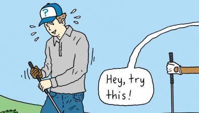 Khái niệm thuật ngữ advice (chỉ đạo) trong golf