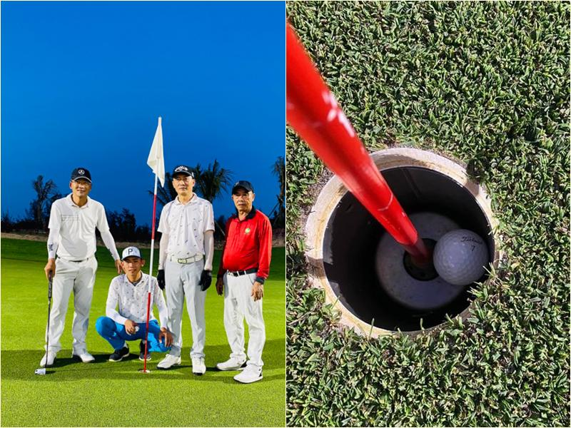 Sân golf Mường Thanh-đón Albatross sau ba tháng khai trương