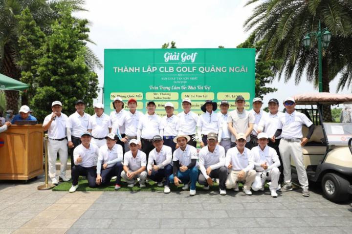 CLB Golf Quảng Ngãi khai trương tại sân golf Tân Sơn Nhất