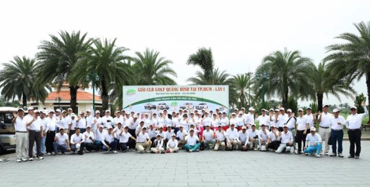 CLB Golf Quảng Bình đã ra mắt tại TP Hồ Chí Minh