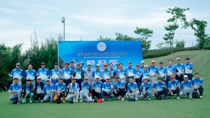 CLB Golf Phượng Hoàng- gắn kết những người con Yên Dũng