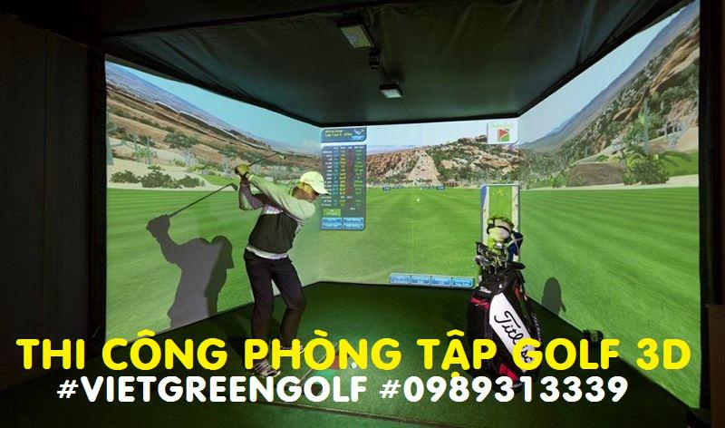 Vì sao nên lắp phòng tập Golf 3D tại nhà?