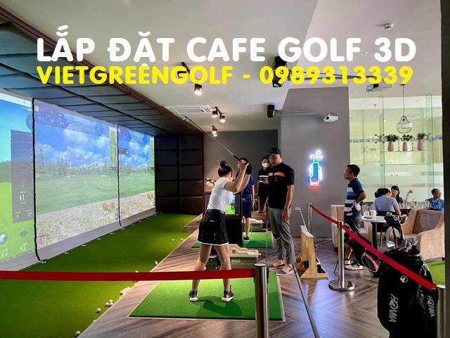 Thiết kế phòng chơi golf 3D gồm những thiết bị gì