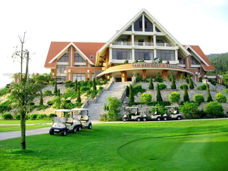 Top #4 sân golf chất lượng đẳng cấp tại Vĩnh Phúc