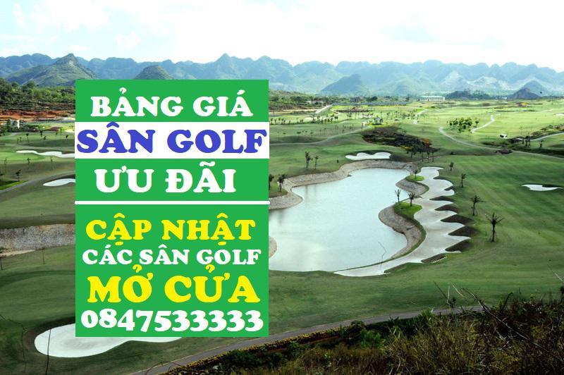 Bảng giá đặt sân golf ưu đãi tháng 7 của Viet Green Golf