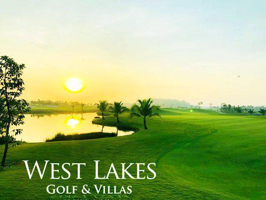 Sân Golf West Lakes Golf and Villa Long An 27 hố cuối tuần
