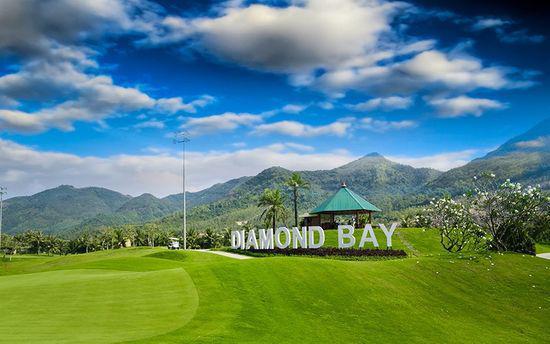 Sân golf Nha Trang, Diamond Bay Golf & Villas- 18 Hố - Cuối tuần