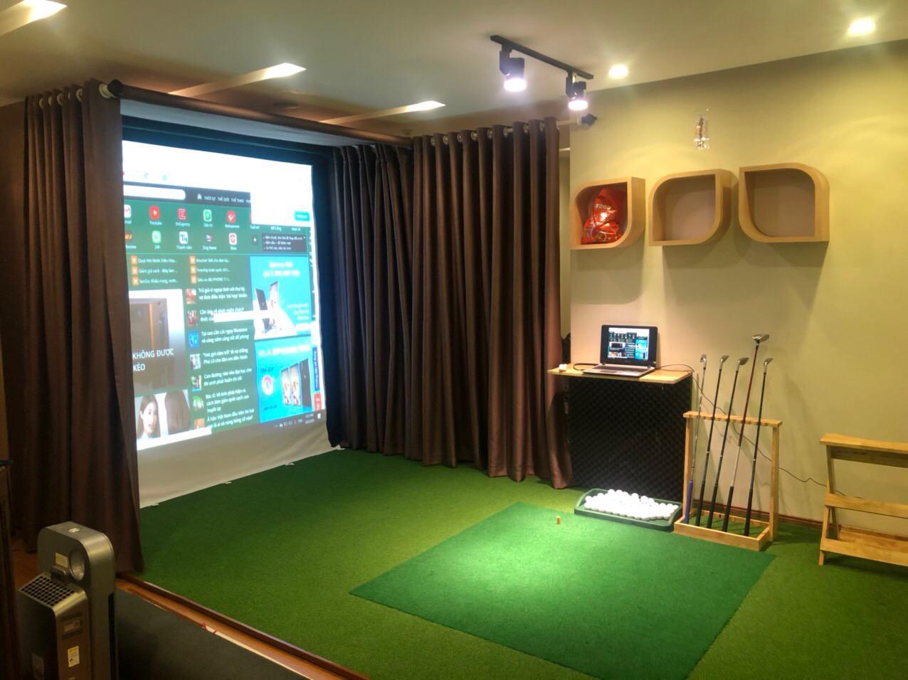Lắp đặt phòng golf 3D: Golf Platinum cho quý Golfer đẳng cấp