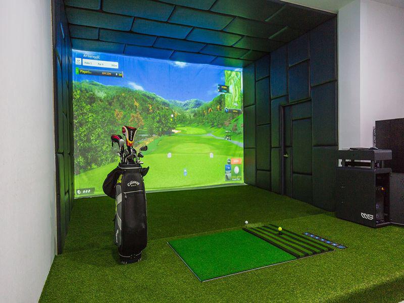 Gói lắp đặt Golf 3D: Cyber Golf Bravo BK 2.0 Basic công nghệ hiện đại