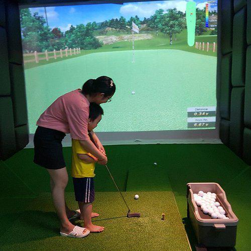 Gói lắp đặt golf 3D Sport Golf Premium tiêu chuẩn công nghệ cao