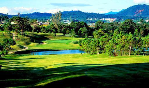 Sân Da Lat Palace Golf Club 9 hố cho khách của hội viên cuối tuần