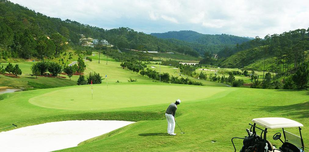 Sân golf SAM Tuyền Lâm - 9 hố - cuối tuần