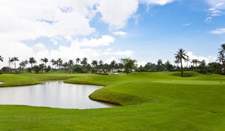 Sono Belle golf Hải Phòng (Sông Giá) - Hills Course 9 hố - trong tuần