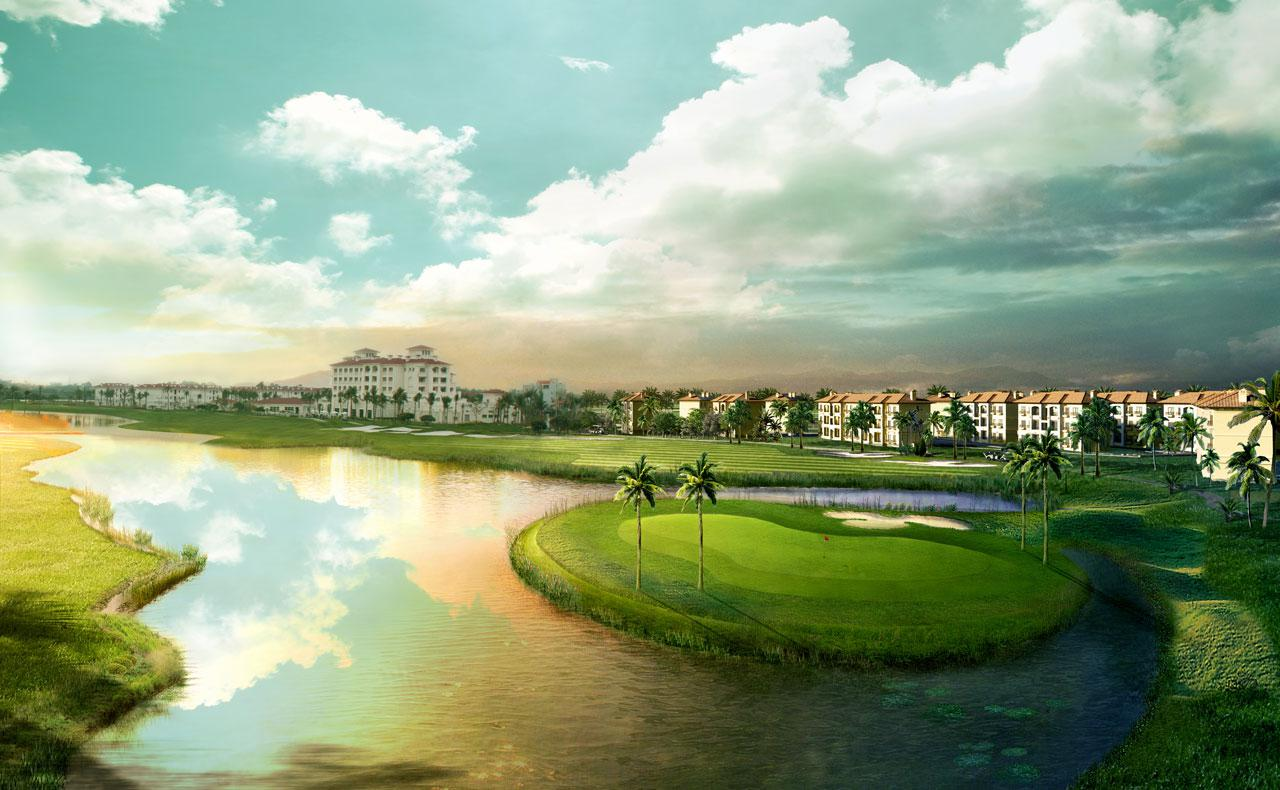 Sono Belle golf Hải Phòng (Sông Giá) - Ocean Course 18 hố - cuối tuần