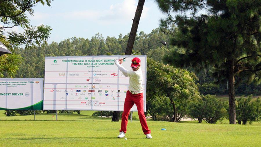 Đặt tee off sân golf Tam Đảo 18 hố thứ 3 - thứ 6