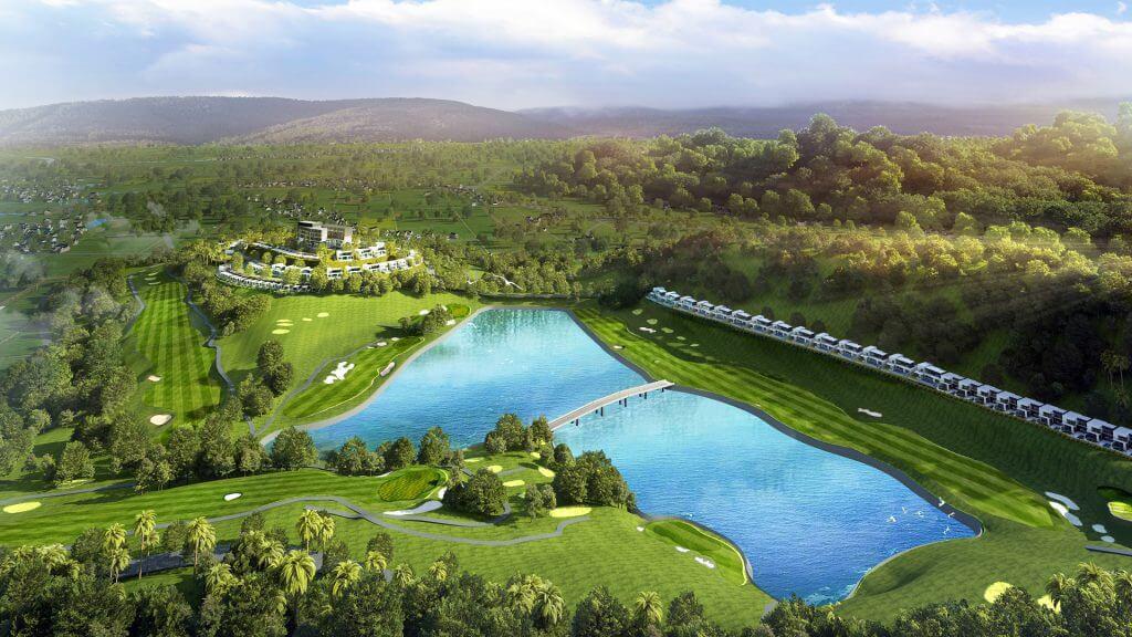 Yên Dũng Resort & Golf Club 18 hố cuối tuần