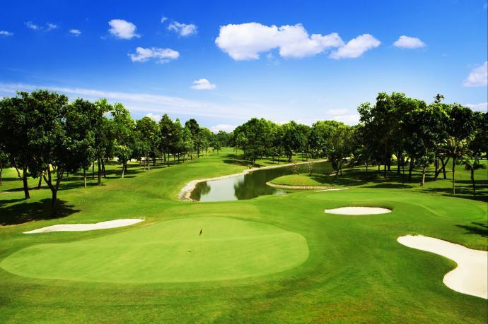 Tee off sân Stone Valley Golf & Resort - 18 hố - Thứ 2