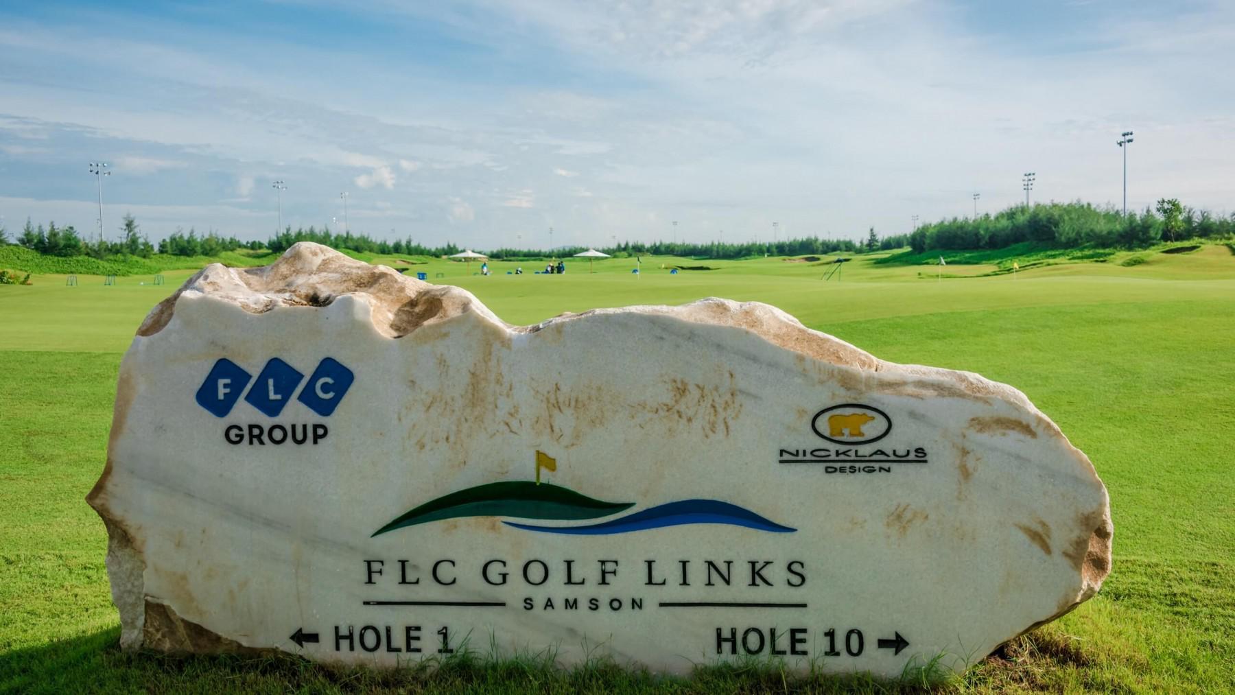 Tee off sân golf FLC Sầm Sơn 18 hố cuối tuần