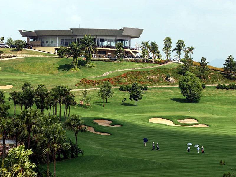 Sân golf Đầm Vạc - Heron Lake Golf Course & Resort - 18 hố - Ngày thường