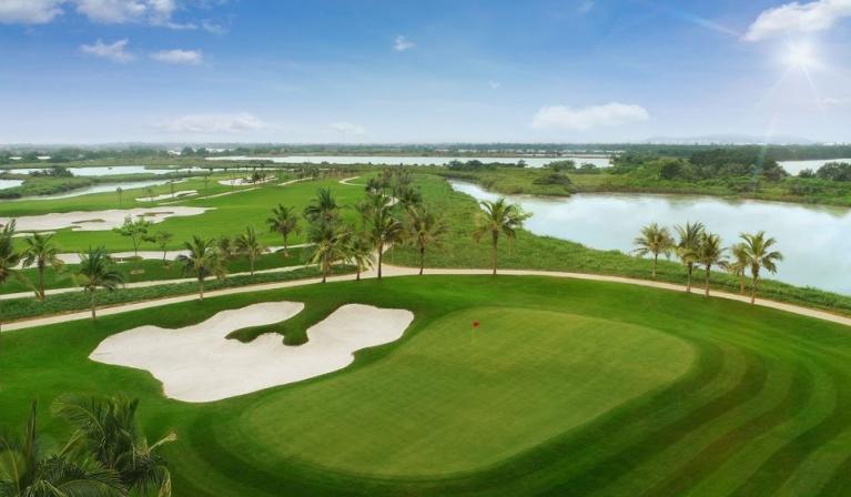 Sân golf Vinpearl Nam Hội An - 18 hố   Sân cỏ + Xe điện + Caddy