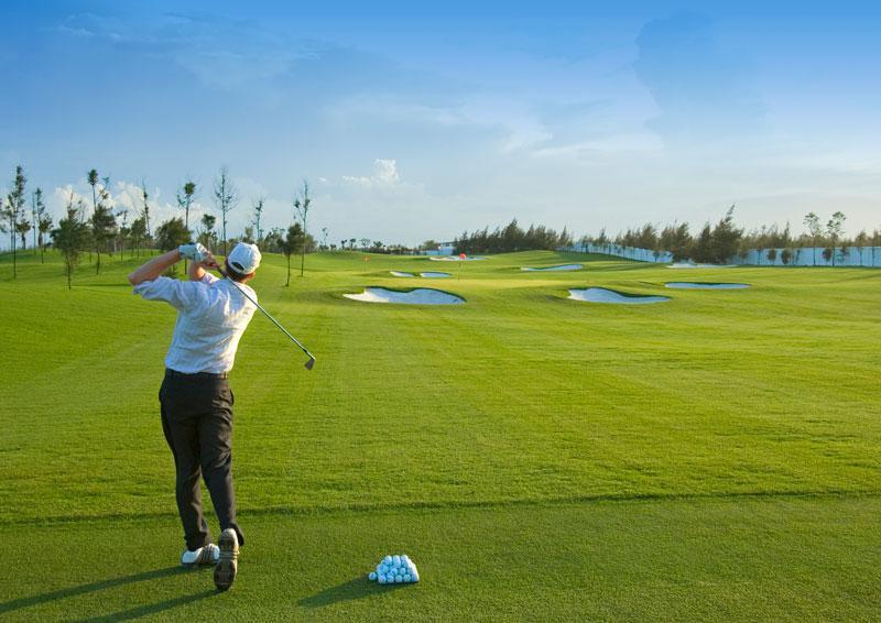 Đặt tee off sân golf Cửa Lò - 18 hố - Cuối tuần