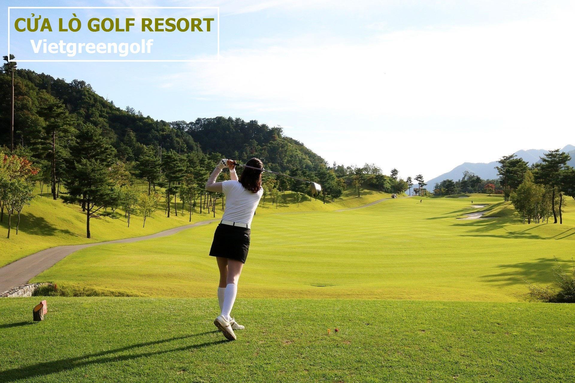 Sân Golf Cửa Lò, Cửa Lò Golf Resort 18 lỗ tiêu chuẩn trong tuần