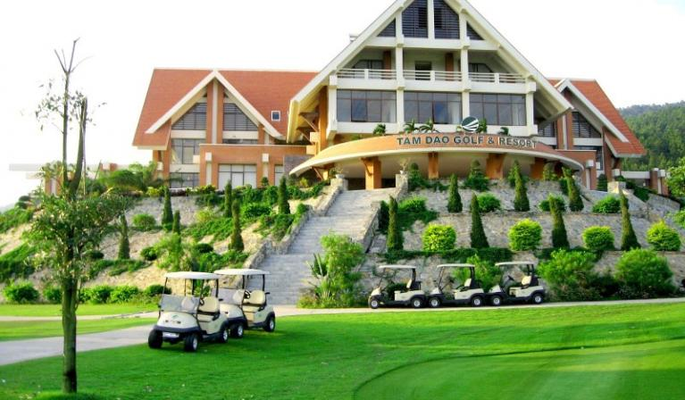 Sân Golf Tam Đảo - Tam Đảo Golf & Resort đẳng cấp cuối tuần