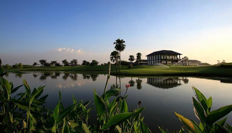Sân Golf Hà Nội - Vân Trì Golf Resort - 18 Hố - Ngày thường